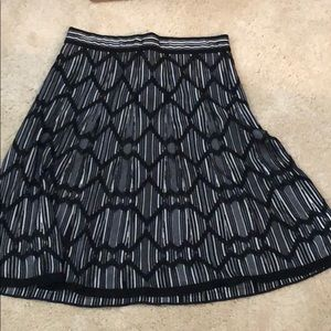 A lovely swing style A-Line skirt by Missoni
